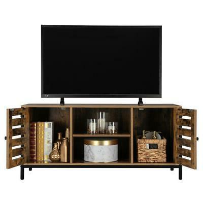 rustic tv stand entertainment center farmhouse console
