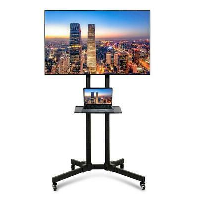 tv stand mobile cart mount with storage