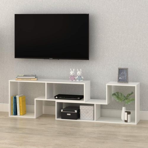 DEVAISE TV Stand, Modern Entertainment Center Media Stand, V