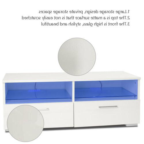 TV Stand Console Storage Cabinet Wood Home Furniture Media