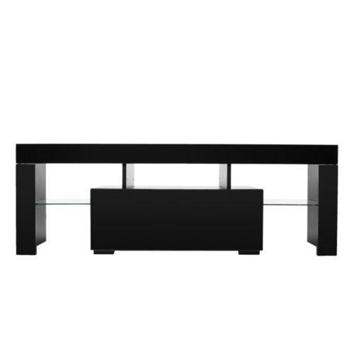 High TV Unit Cabinet Lights Furniture