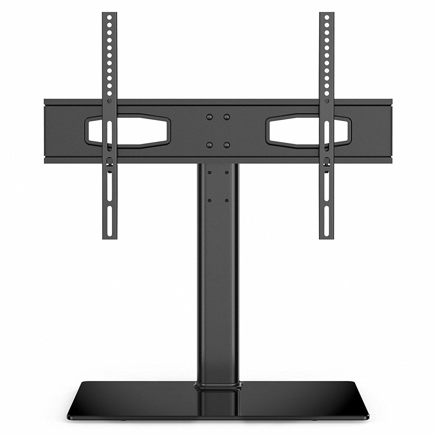 Fitueyes TV Stand Universal Table Top Flat Screen TV Base Fi