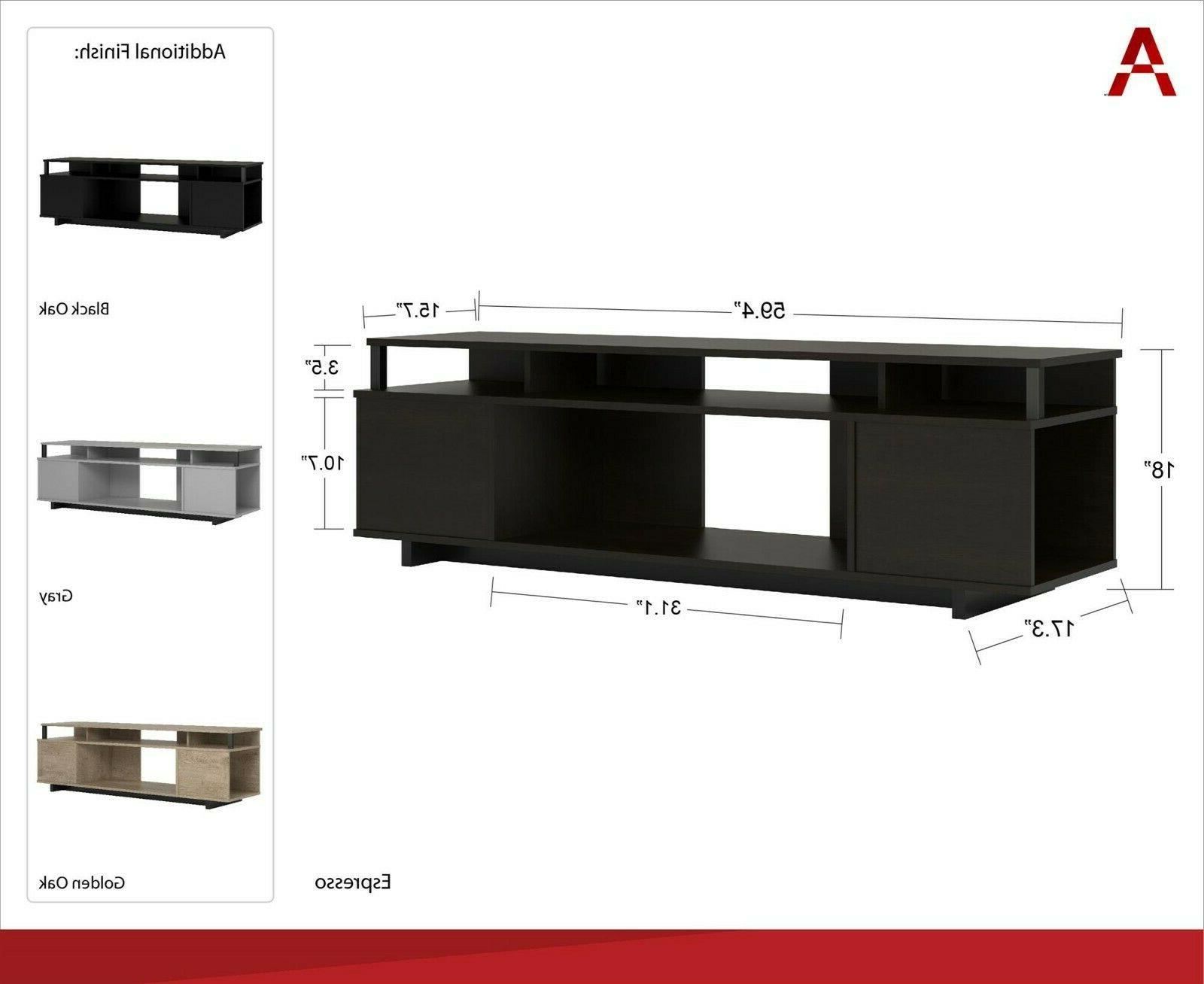TV Up 65in Console Center Cabinet