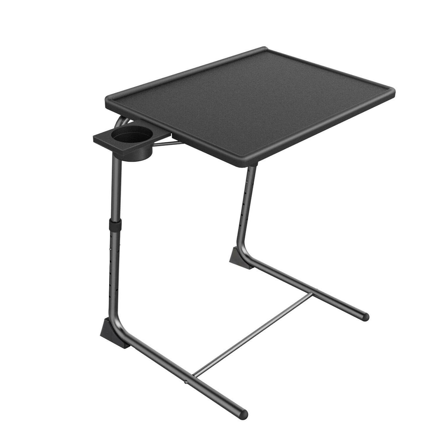 TV Tray Table Game Snack Dinner Laptop Stand Folding Adjusta