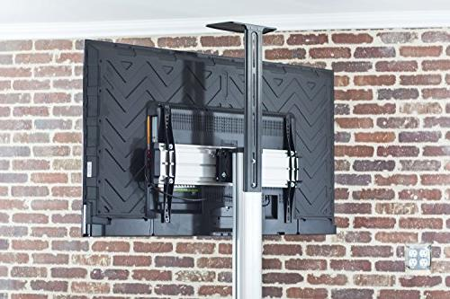 """TV for Screen Panel Mobile Rolling Stand 3"""" 70"""""""