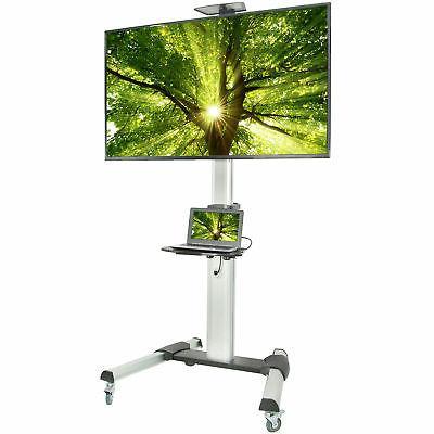 VIVO Ultra Heavy Duty TV Cart for Flat Screen Panel Mobile R