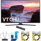 "Samsung 55"" 4K Ultra HD Smart LED TV 2017 Model with Cleanin"