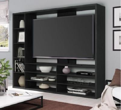 Entertainment Center Wall Contemporary Cabinet TV Furniture Storage