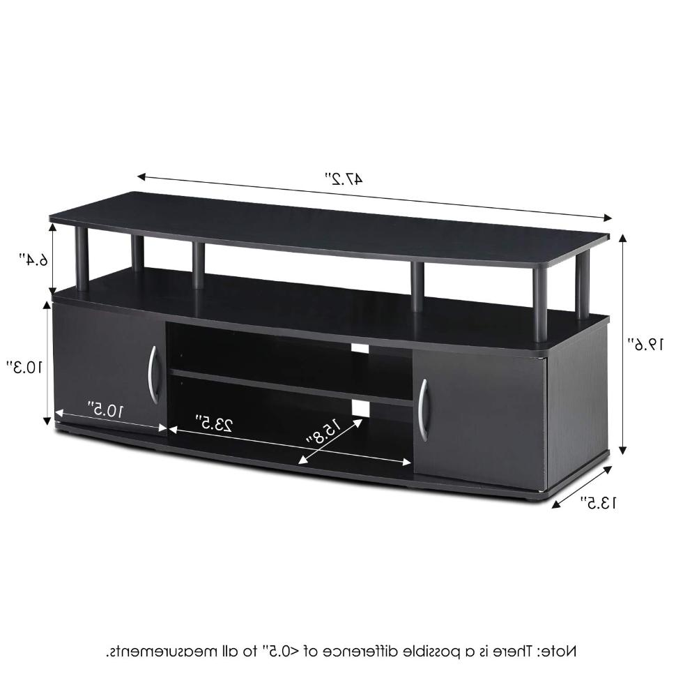 Universal Screen Stand Media Console Storage Display Table