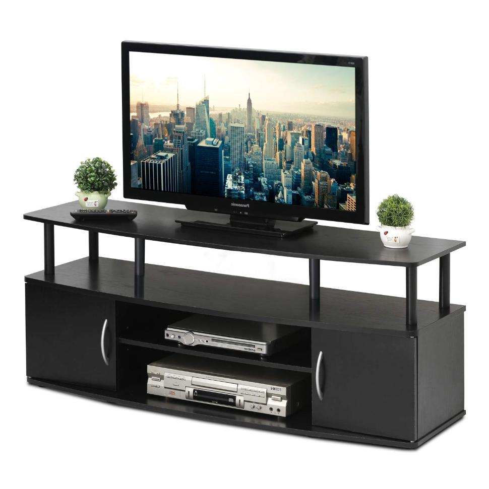 Universal Screen Stand Media Console Entertainment Storage Display