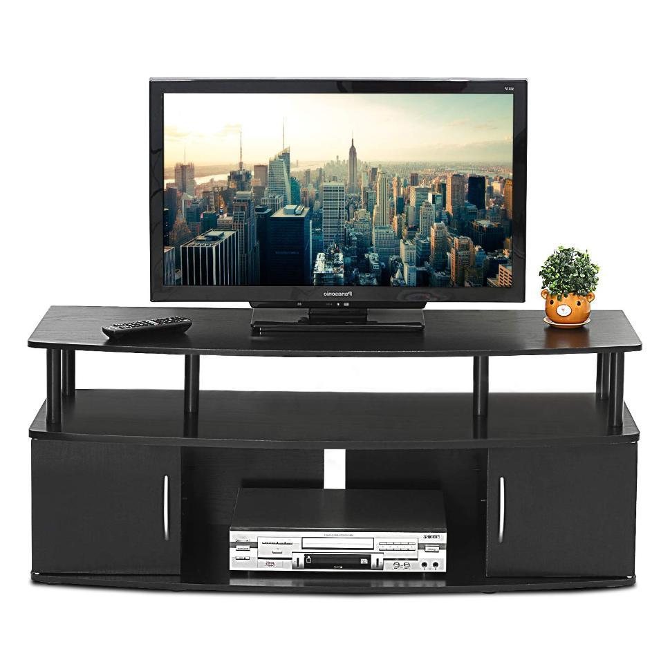 universal flat screen tv stand media console