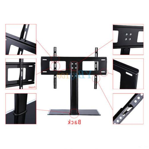 Universal Flat Screen Table Bracket With TV