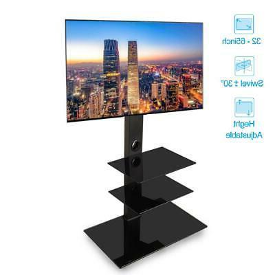universal floor tv stand swivel mount