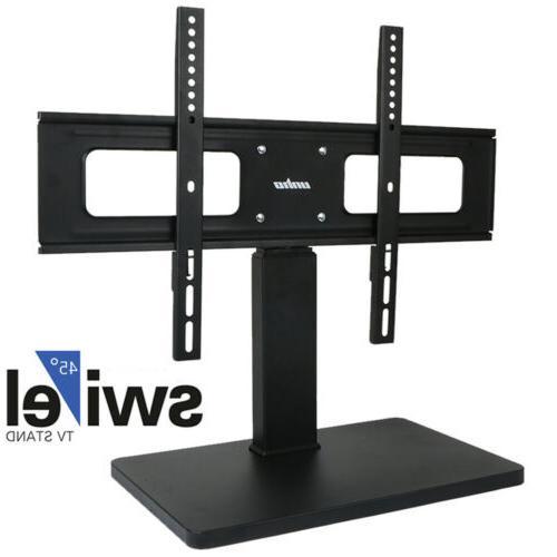 "Universal TV Stand Swivel Mount Pedestal Base for 32""~65"" Sh"