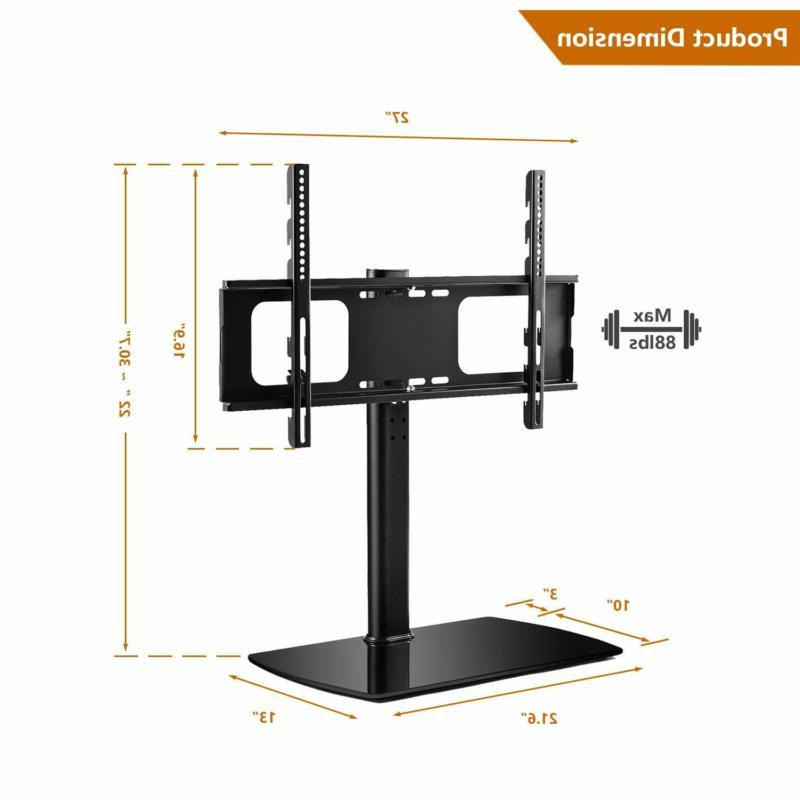 Rfiver Swivel Tabletop Tv Stand Mount For 37 40 42 47 55 60