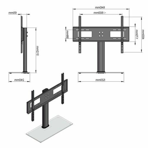 Universal Table Base Stand with Mount for LCD