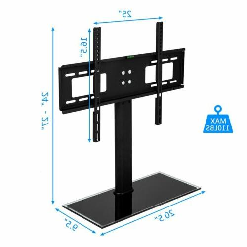 Universal top TV Base with Swivel Mount for LCD TVs
