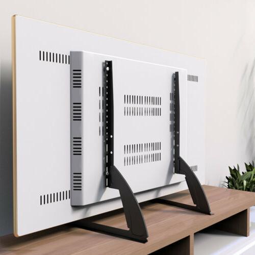"TV Stand Base Mount Flat Panel Holder Universal Fr 22-55"" So"