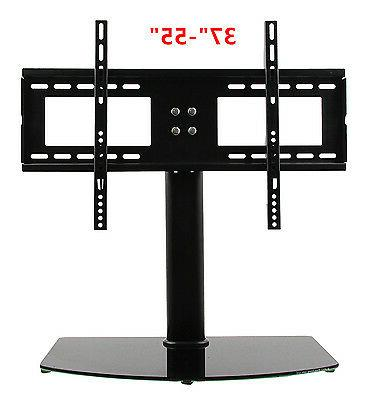 "NEW Universal TV Stand/Base for 37""-55"" LCD/LED/Plasma TVs T"