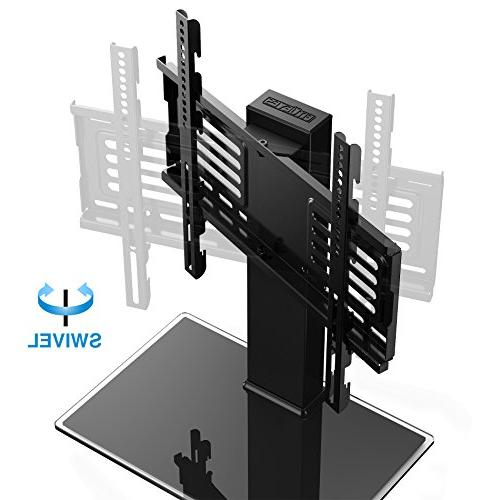 FITUEYES Base with Swivel Height Adjustable For To Inch Screen