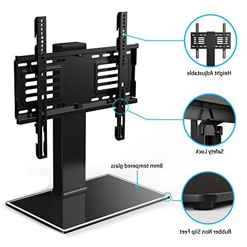 FITUEYES Universal TV Base Mount Height For To 55 Inch Flat Screen