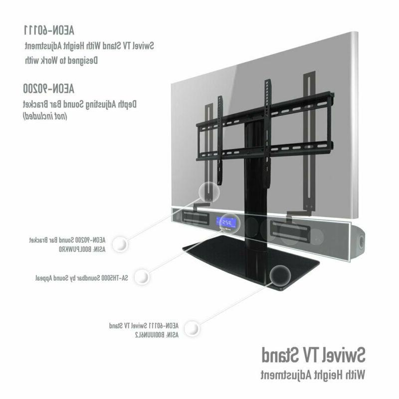 TV with height adjustment