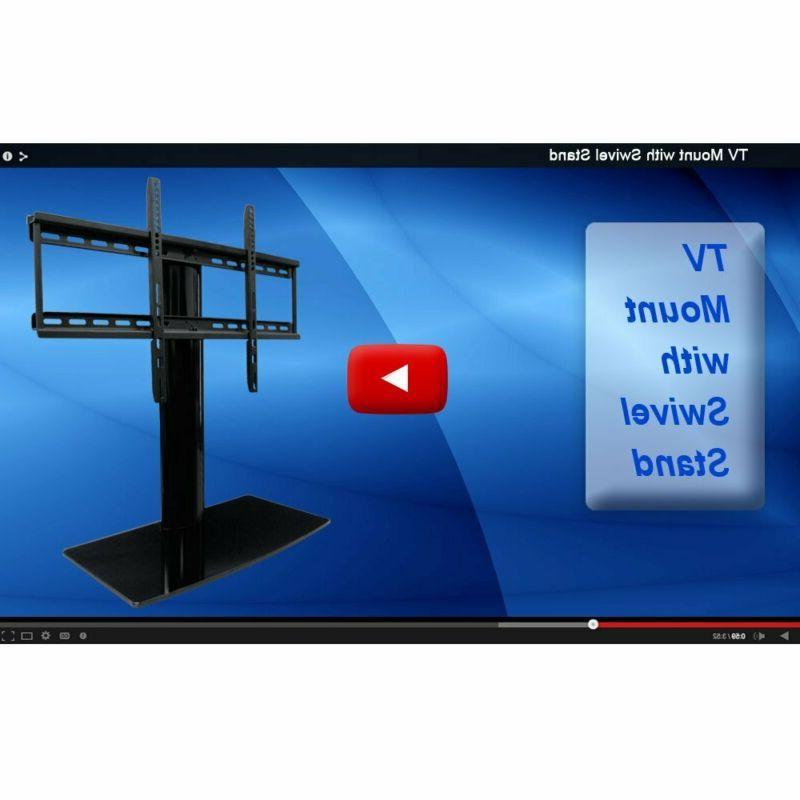 Universal TV swivel height adjustment