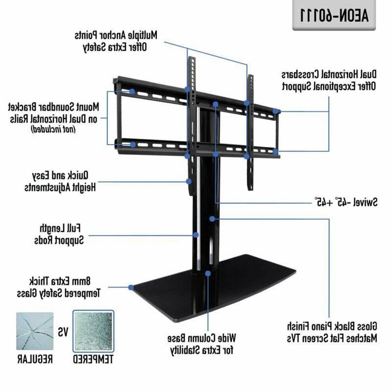 TV with swivel and height adjustment