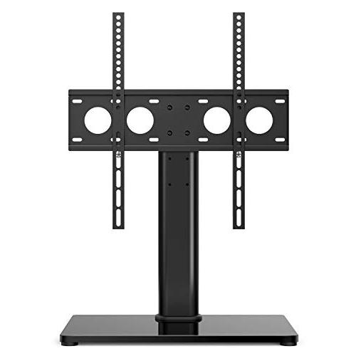 Universal Table Top for 32-47 LCD LED TVs - Height Adjustable with & & Security Holds to