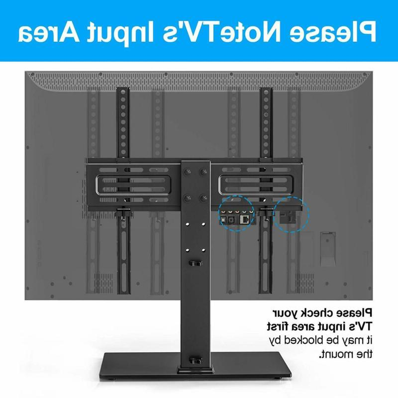 FITUEYES Universal TV - Table TV Stand 27-55 LCD TVs - 6