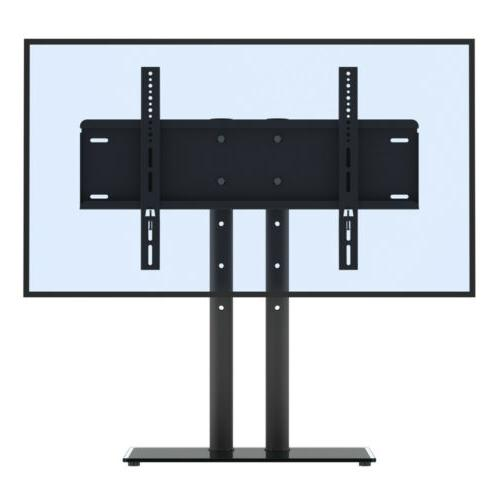 "Table Top TV Stand with Mount Pedestal Base for 32"" - 65"" Sa"