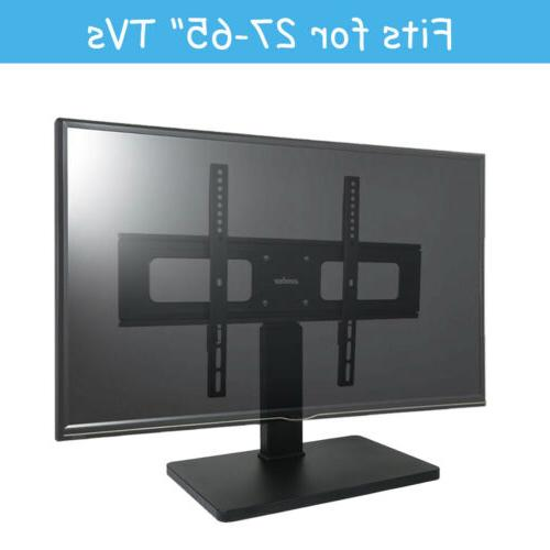Universal TV Stand Swivel to 65 inch Flat screen Height Adjust