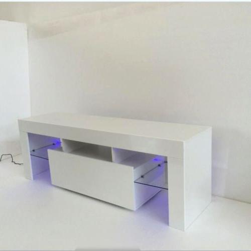 White High Light TV Unit