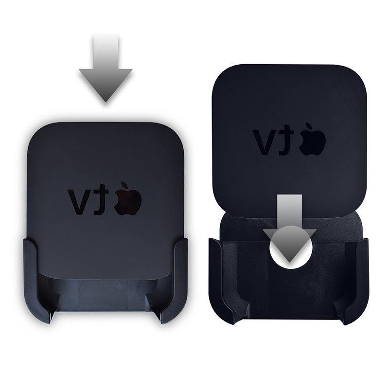 For <font><b>TV</b></font> Gen <font><b>Media</b></font> Player Black Controller Protective Case Skin