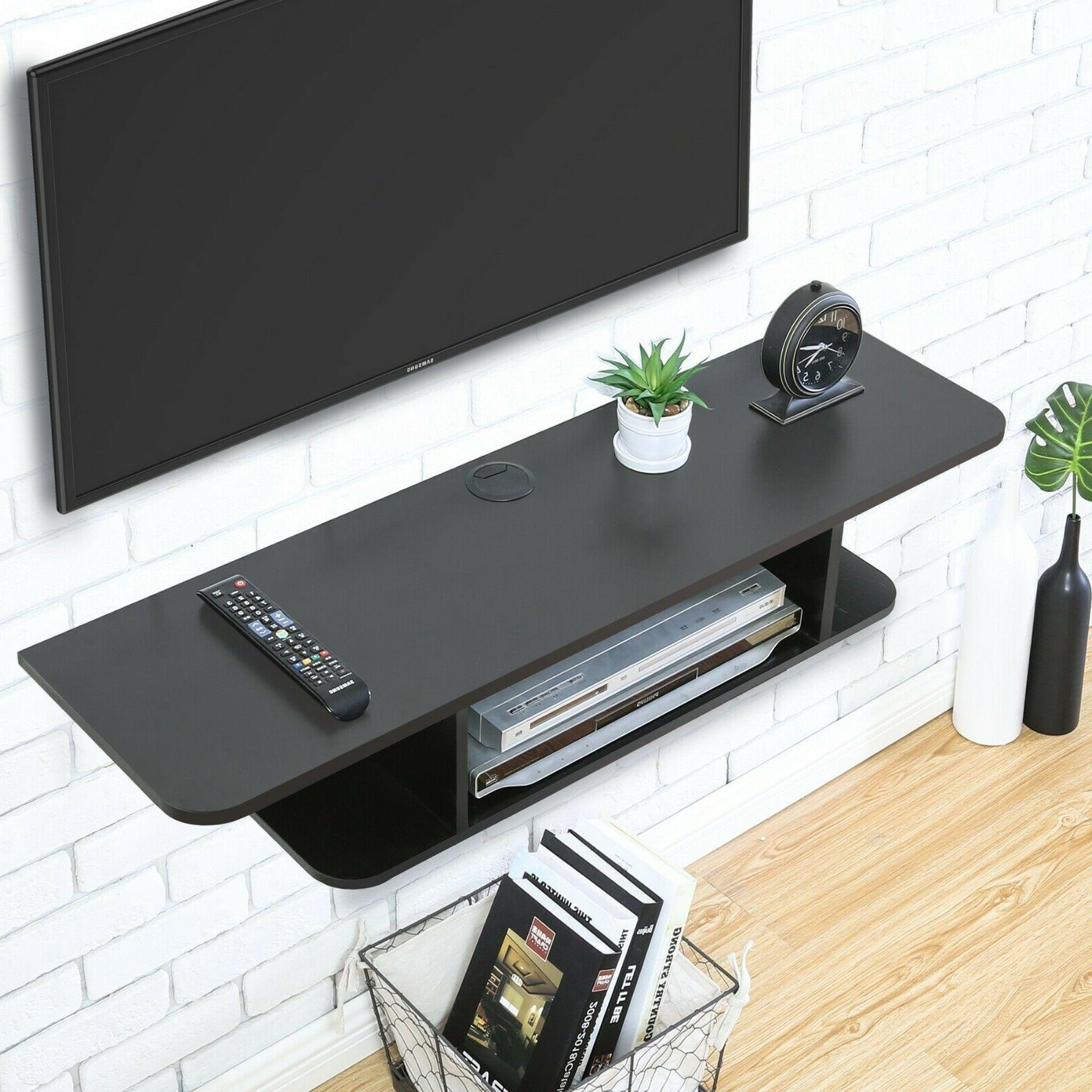 FITUEYES Wall Media Stand Component Shelf
