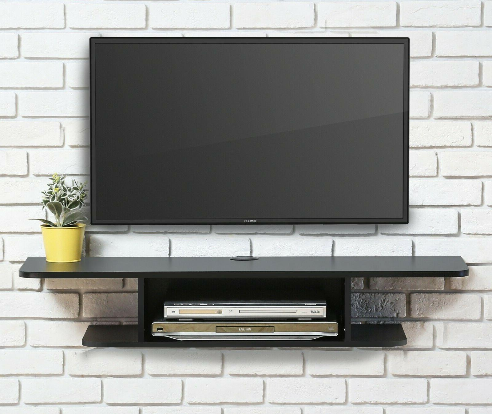 FITUEYES Wall Mounted Media Console,Floating TV Stand