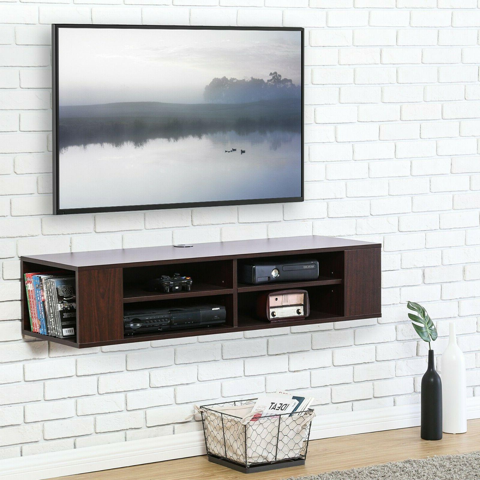 Floating TV Stand, Mounted Shelf,