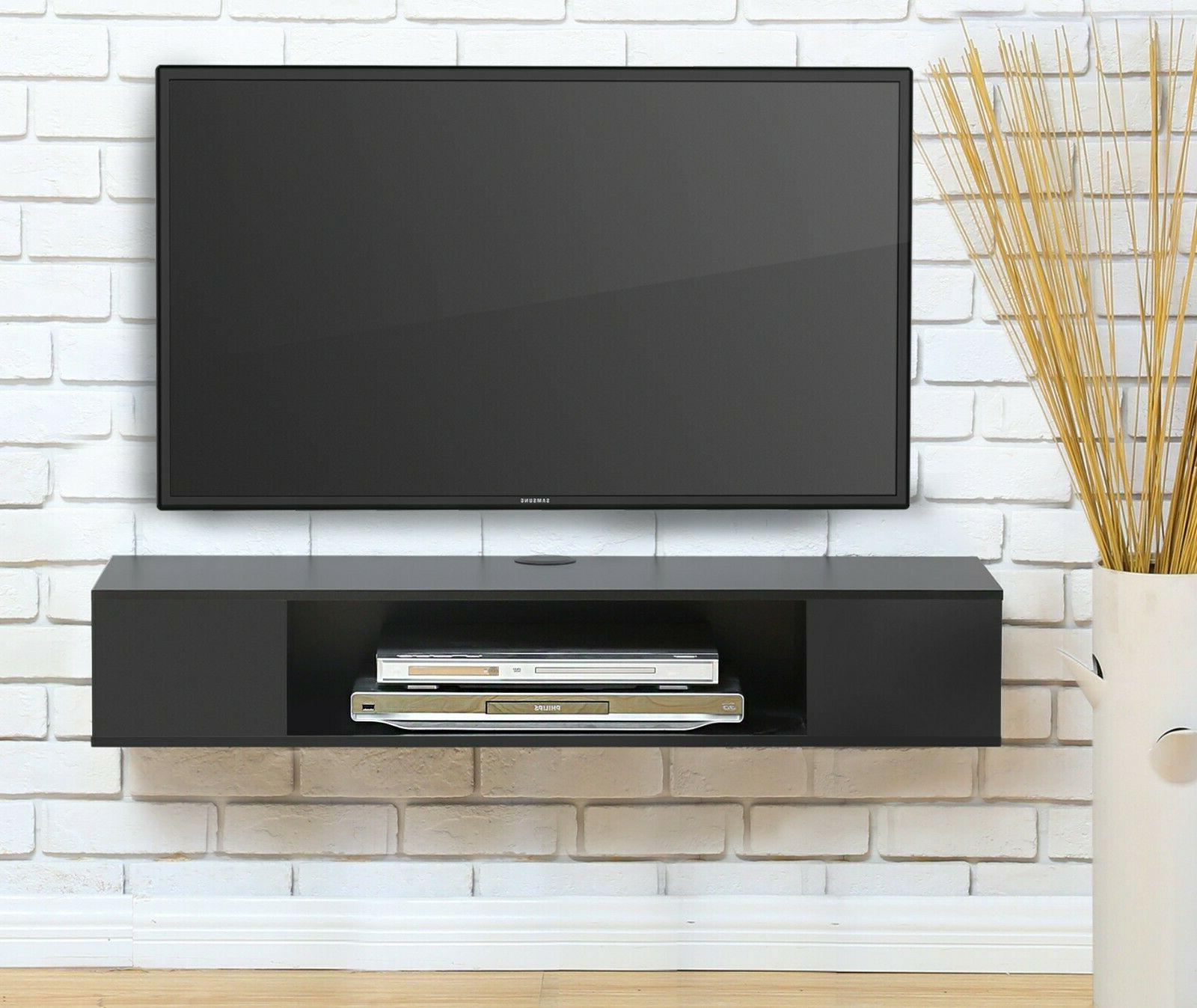Floating TV Stand, Wall Mounted Shelf,