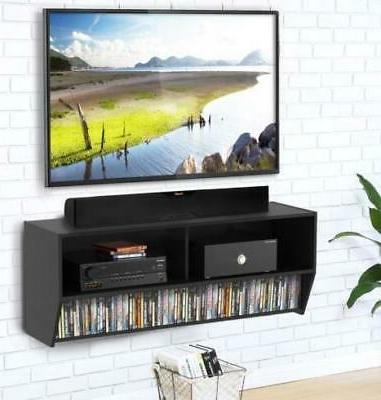Modern Floating TV Media Center