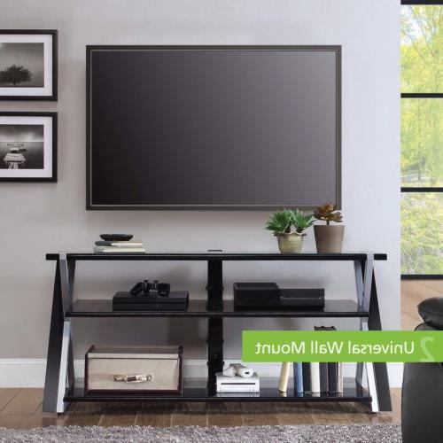 Whalen Xavier 3-in-1 Stand for TVs Display Options