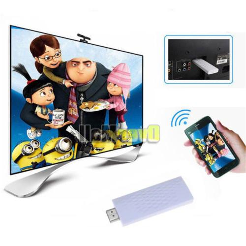 Wireless Airplay Screen Dongle Adapter Mirror Display Hot
