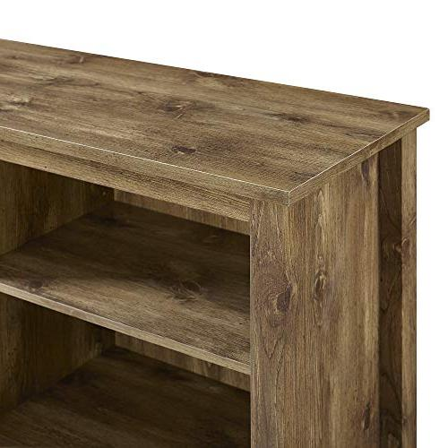 WE Furniture Media Console with -