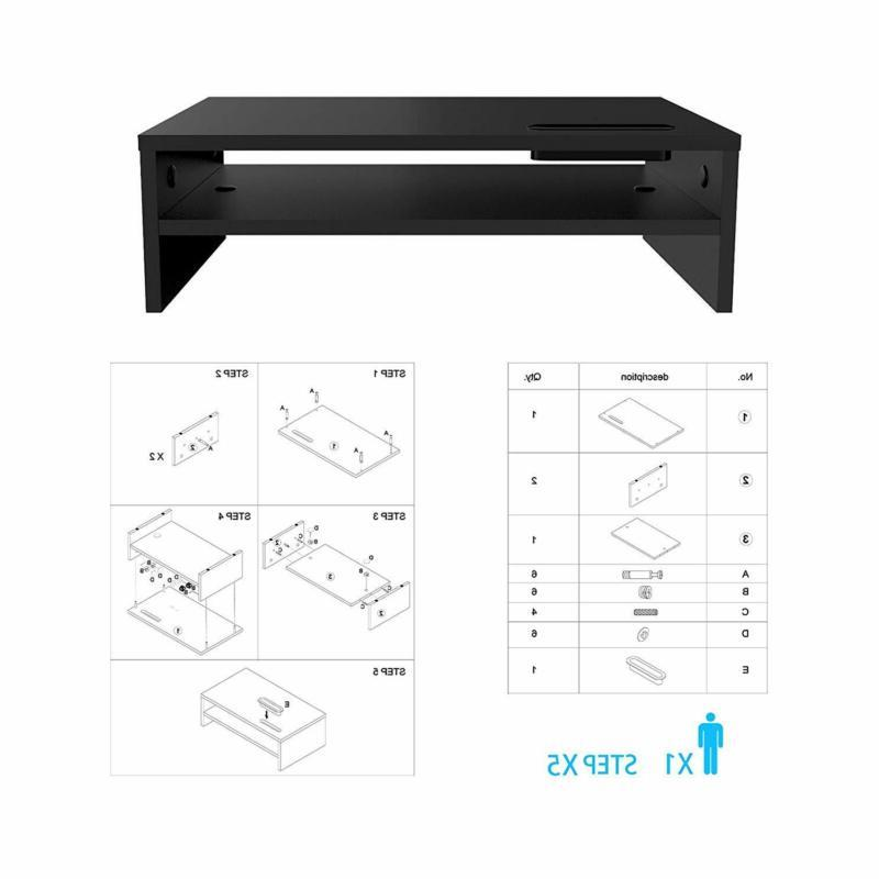 Computer Stand Desk Desktop Laptop Console Furniture