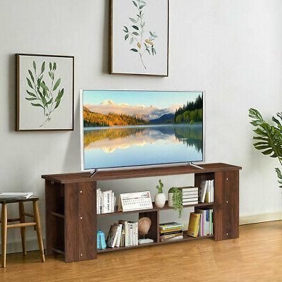 Wood Storage Stand TVs to