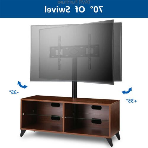 Wood with 32-65 inch TVs