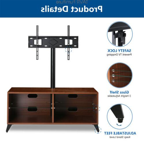 Wood TV Stand Console with 32-65 inch TVs Storage Shelf
