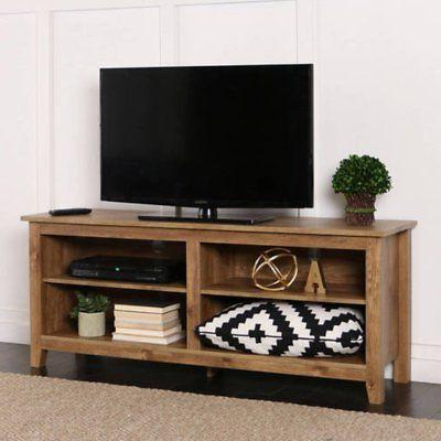 Walker Edison Wood TV Stand