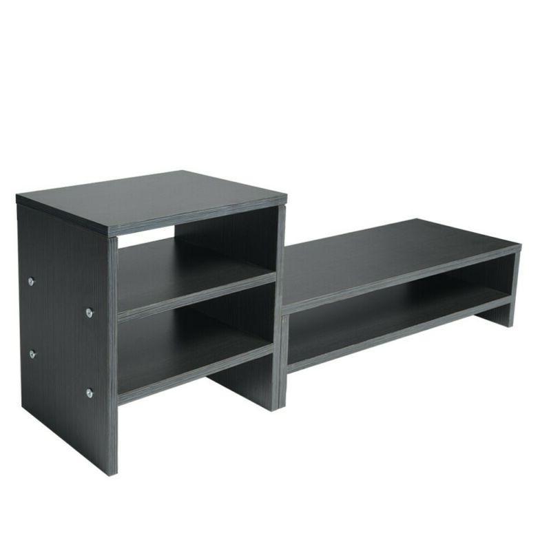 TV Height Neck Desk Storage Rack