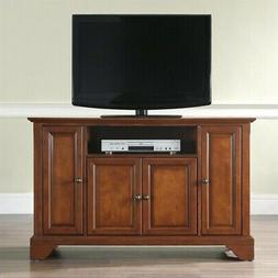 Crosley Furniture LaFayette 48-inch TV Stand - Vintage Mahog