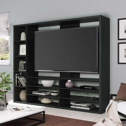 "Large 55"" TV Stand Entertainment Center Holder Bookcase Shel"